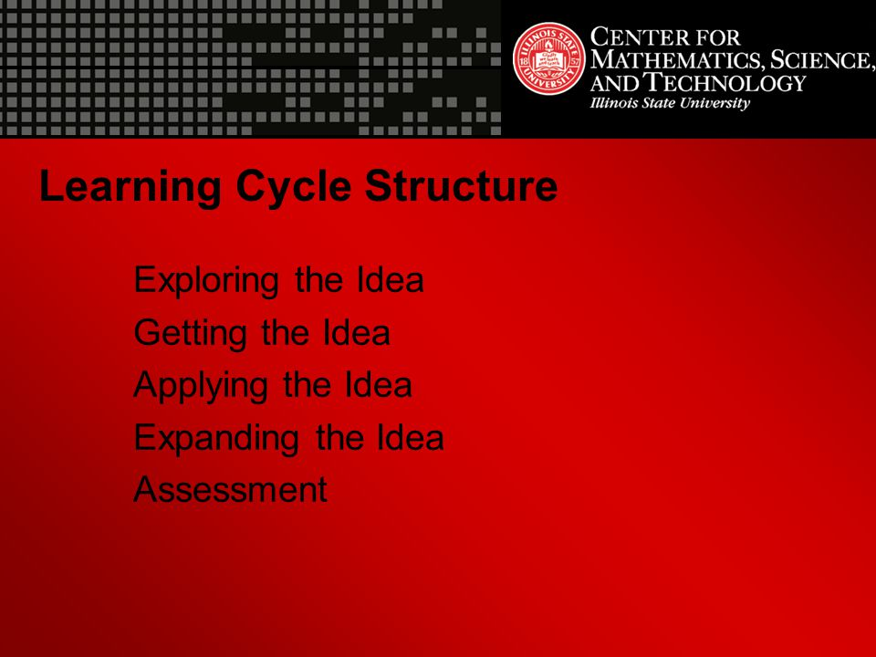 Learning Cycle Structure