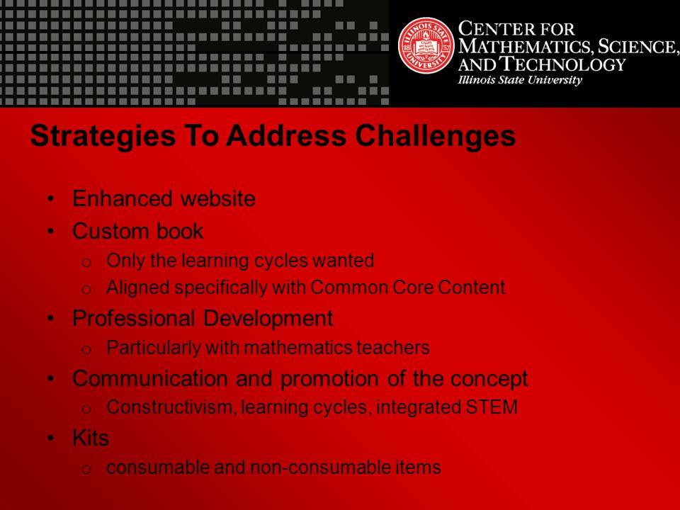Strategies To Address Challenges
