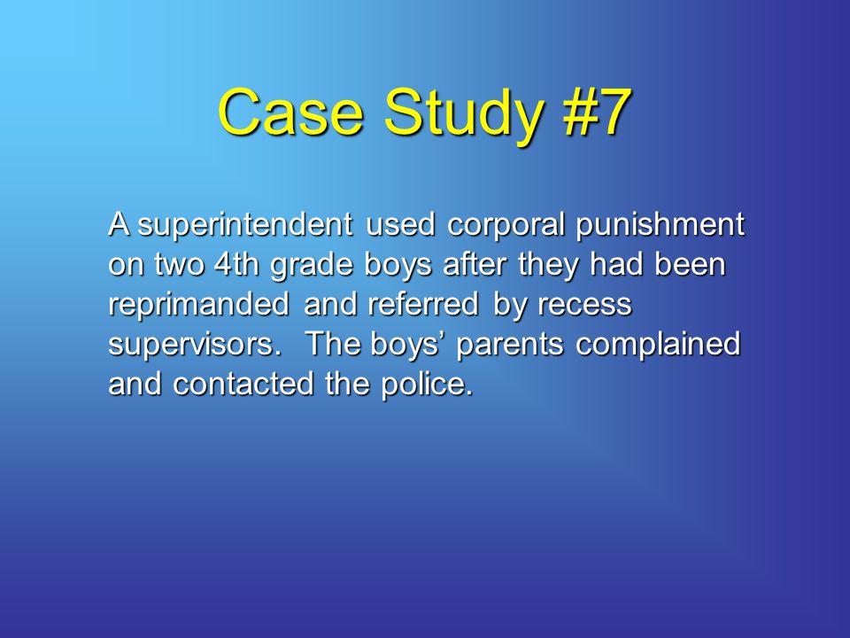 Case Study #7