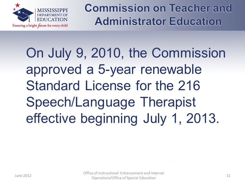 Commission on Teacher and Administrator Education