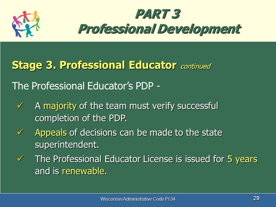 PART 3 Professional Development