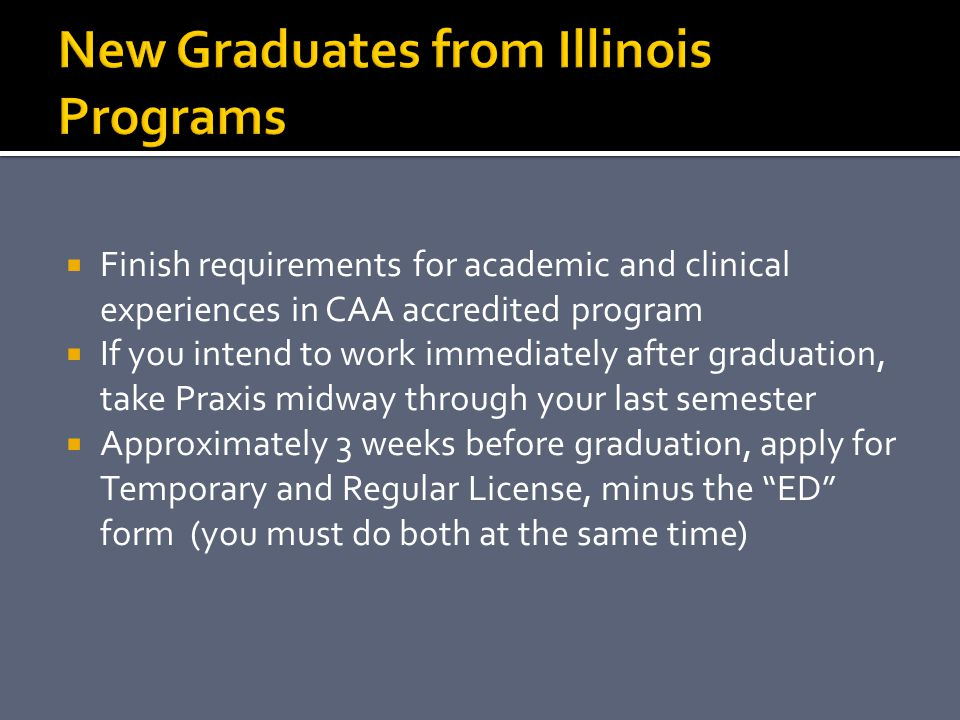 New Graduates from Illinois Programs