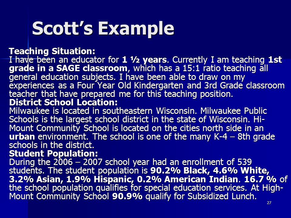 Scott's Example