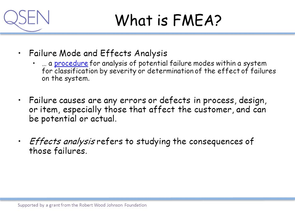 What is FMEA Failure Mode and Effects Analysis