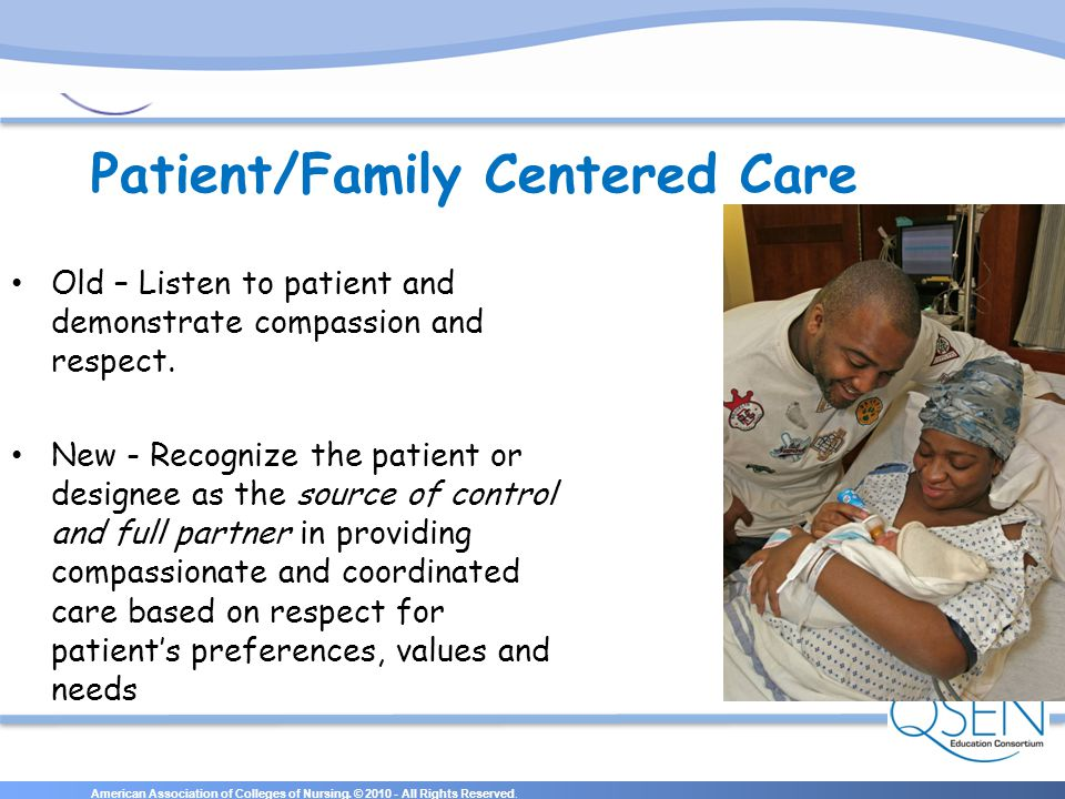 Patient/Family Centered Care
