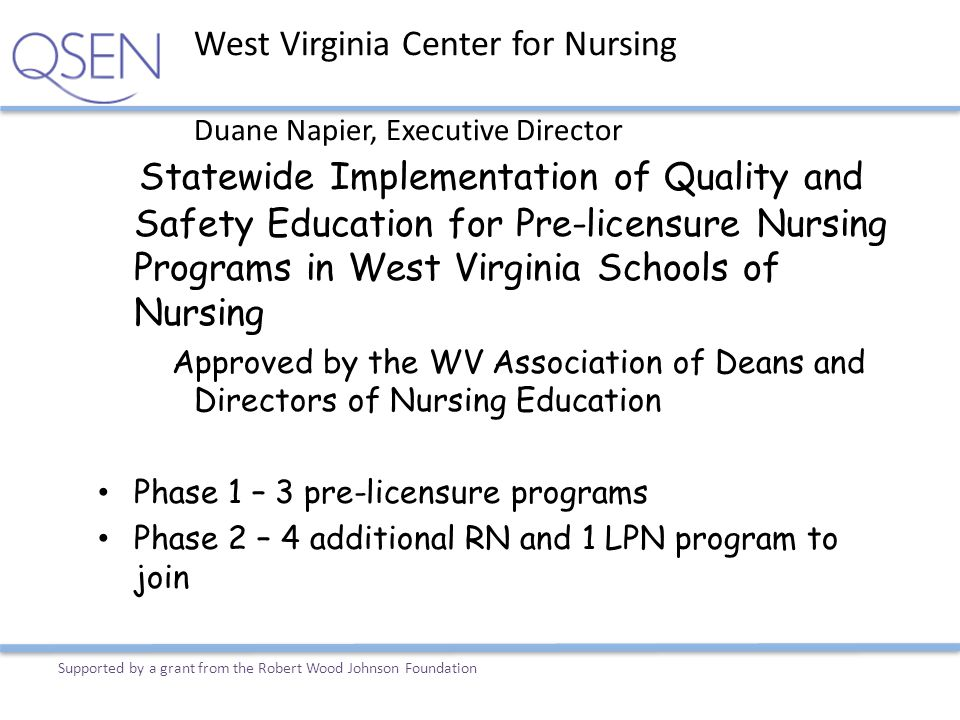 West Virginia Center for Nursing