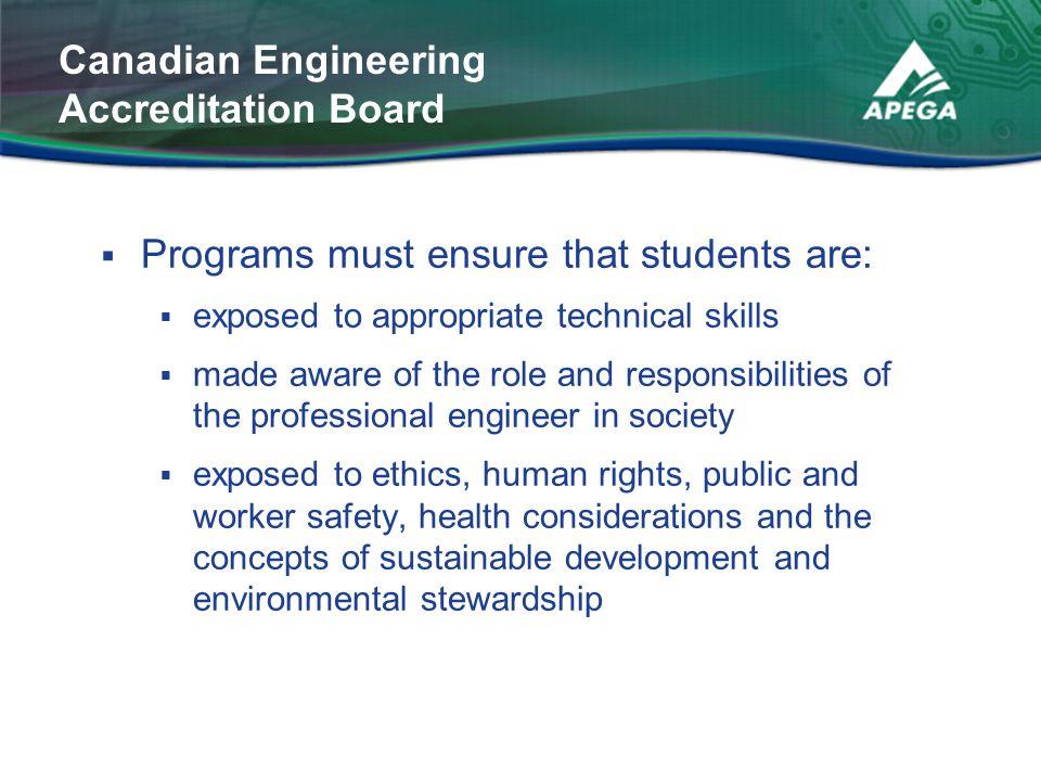 Canadian Engineering Accreditation Board