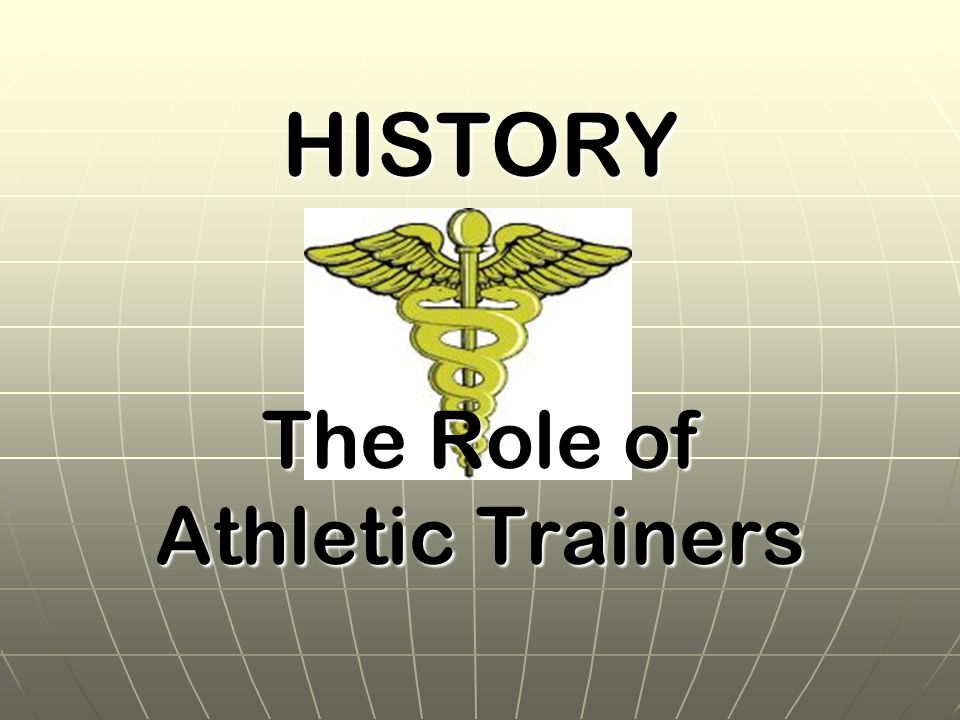 The Role of Athletic Trainers