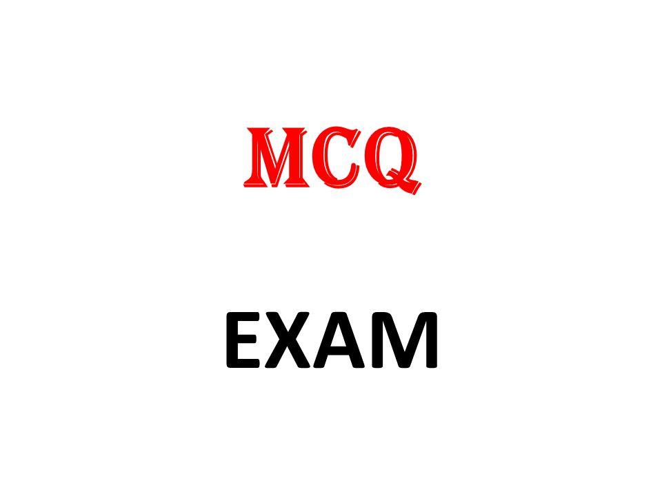 MCQ EXAM