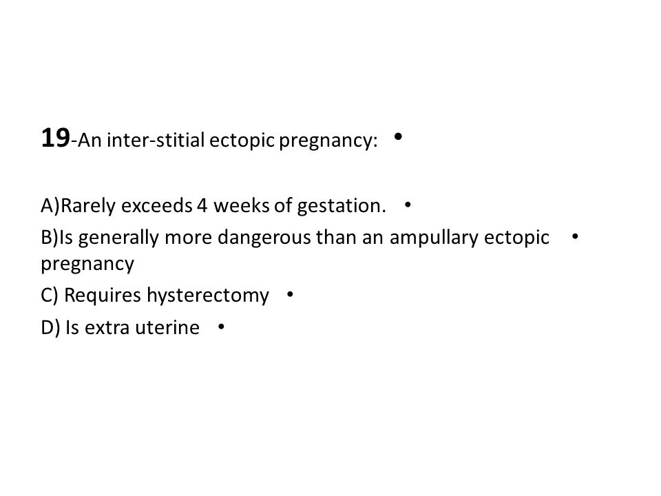 19-An inter-stitial ectopic pregnancy: