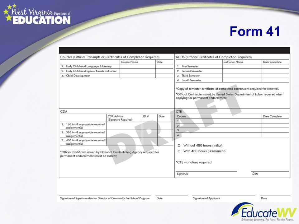 Form 41 Ms. Scottie Ford