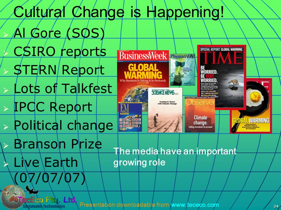 Cultural Change is Happening!