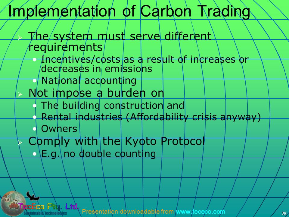 Implementation of Carbon Trading