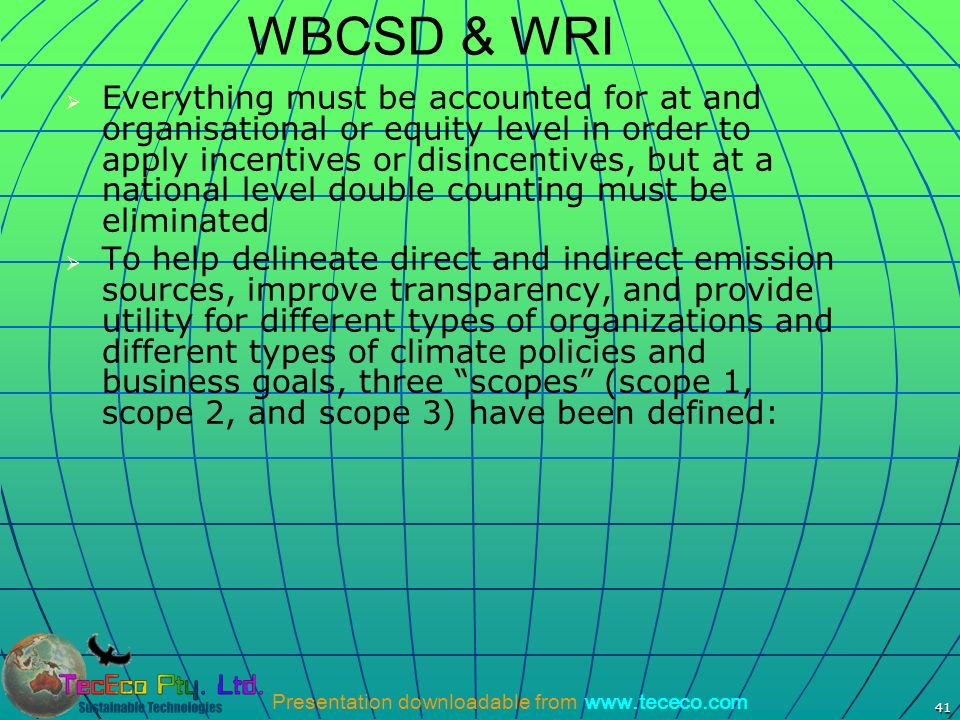 WBCSD & WRI