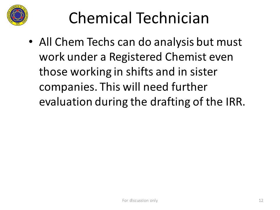 Chemical Technician
