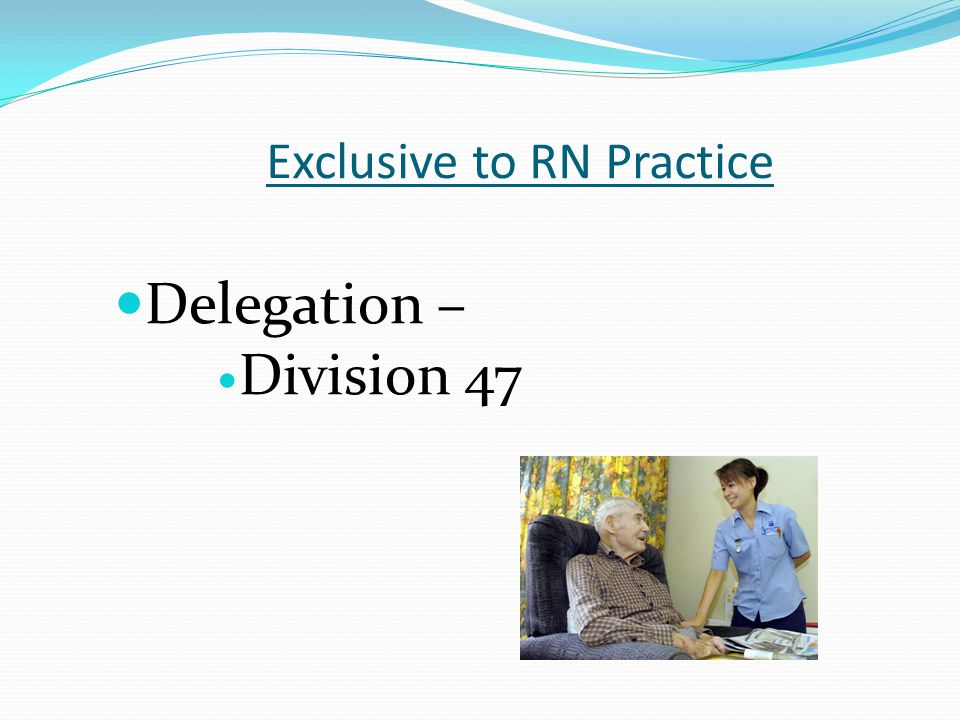 Exclusive to RN Practice
