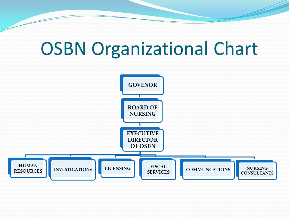 OSBN Organizational Chart
