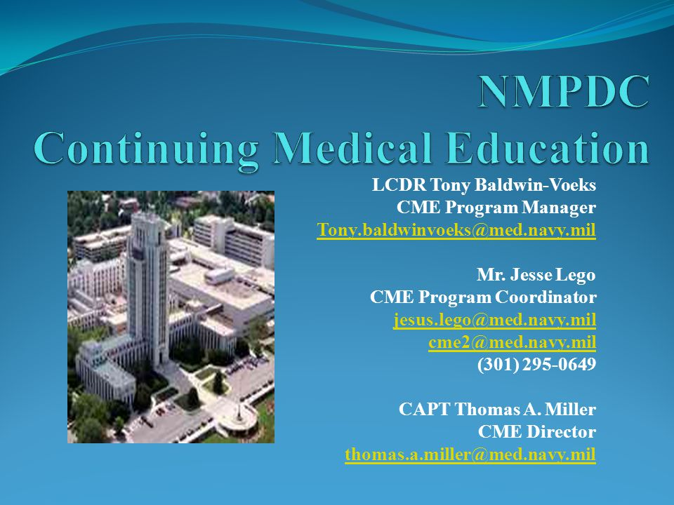 NMPDC Continuing Medical Education