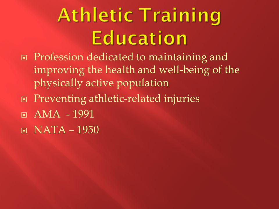 Athletic Training Education