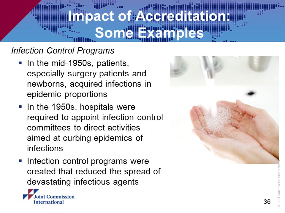 Impact of Accreditation: Some Examples