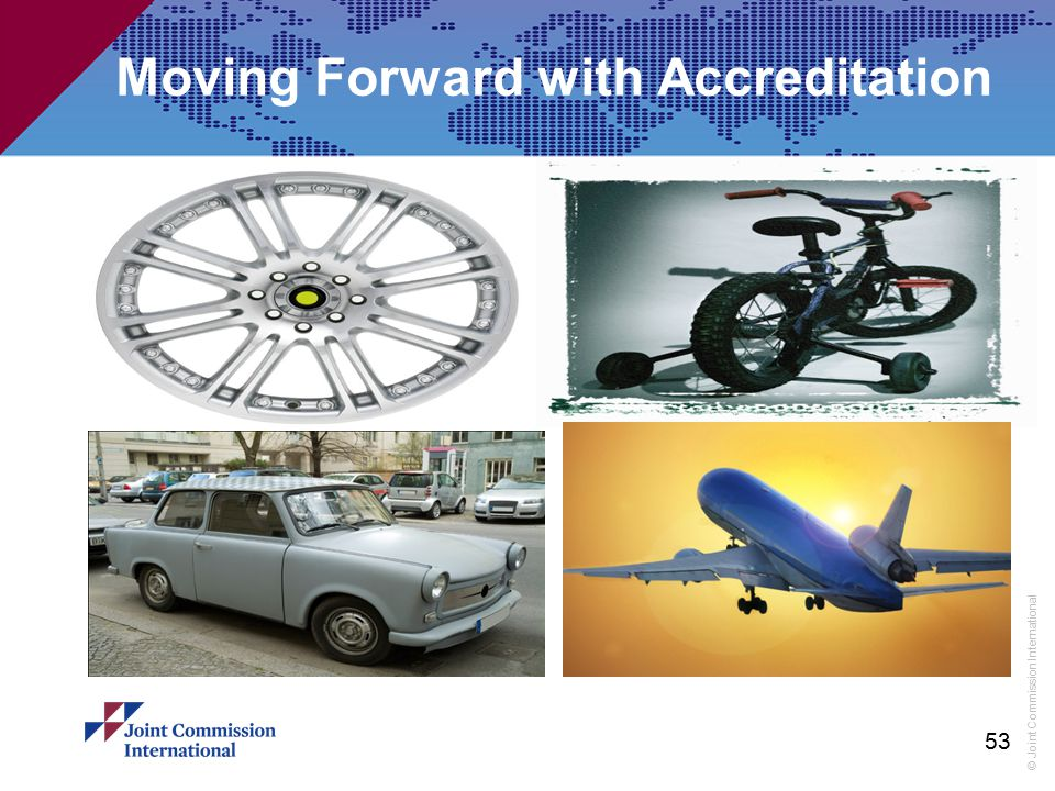 Moving Forward with Accreditation