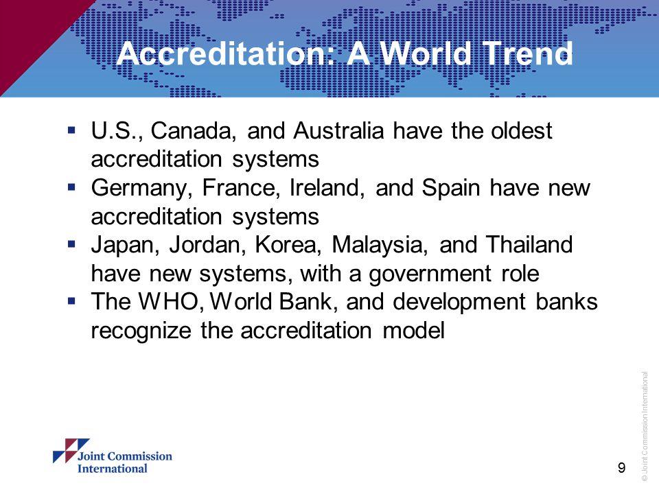 Accreditation: A World Trend