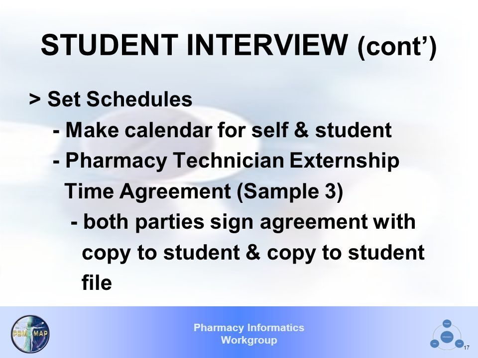 STUDENT INTERVIEW (cont')