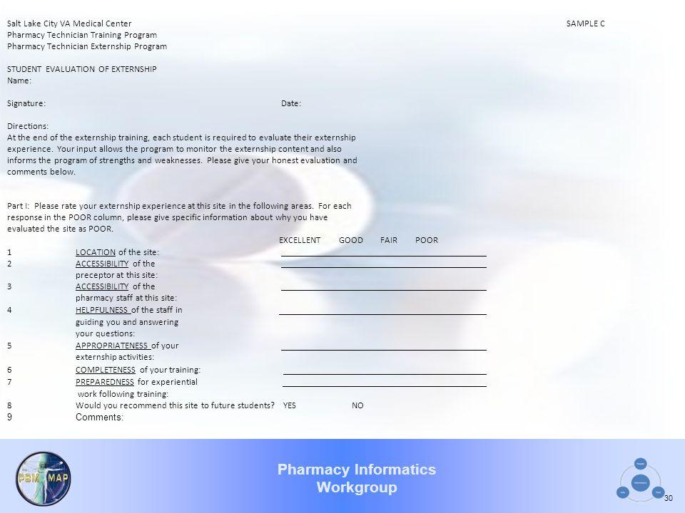 Salt Lake City VA Medical Center SAMPLE C
