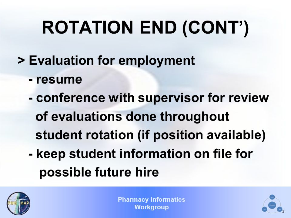 ROTATION END (CONT')