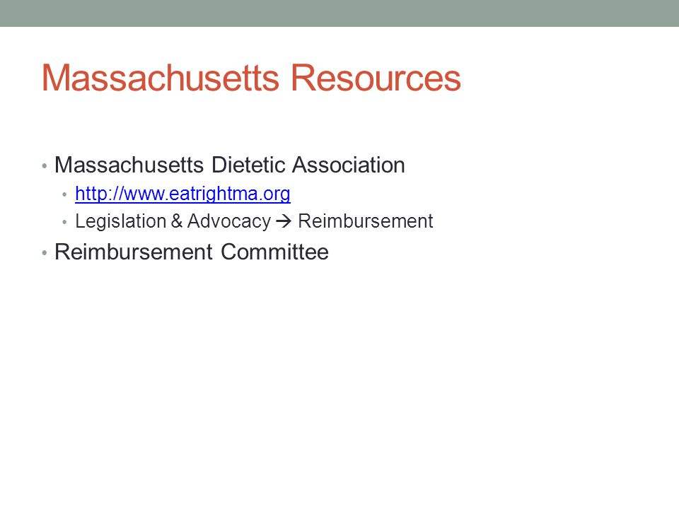 Massachusetts Resources