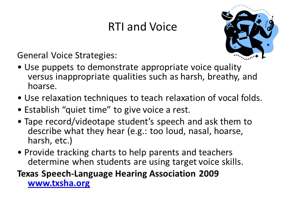 RTI and Voice