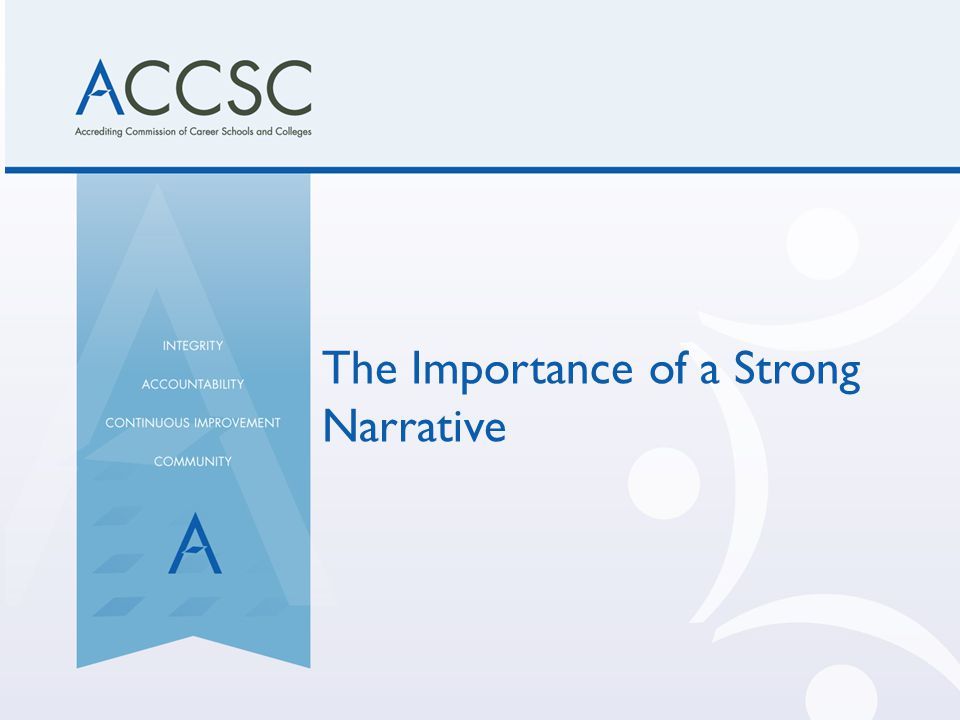 The Importance of a Strong Narrative