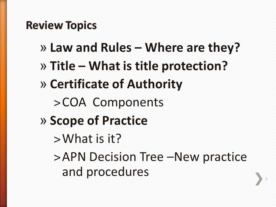 Law and Rules – Where are they Title – What is title protection