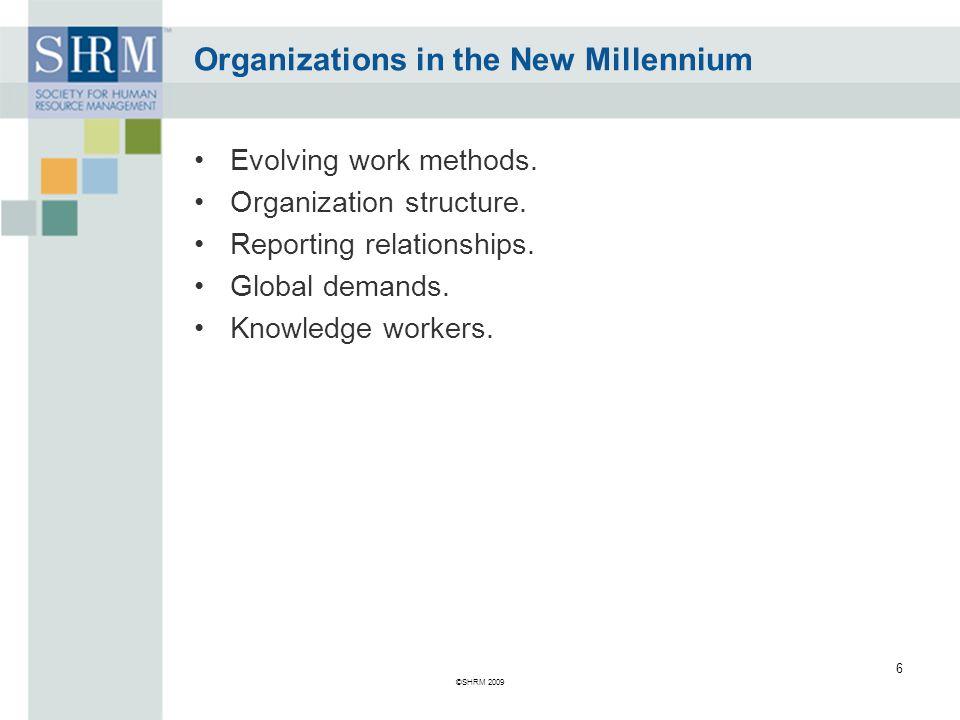 Organizations in the New Millennium