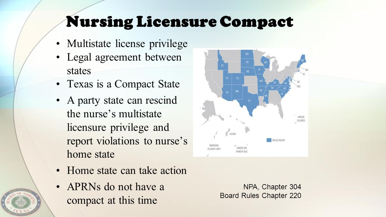 Nursing Licensure Compact