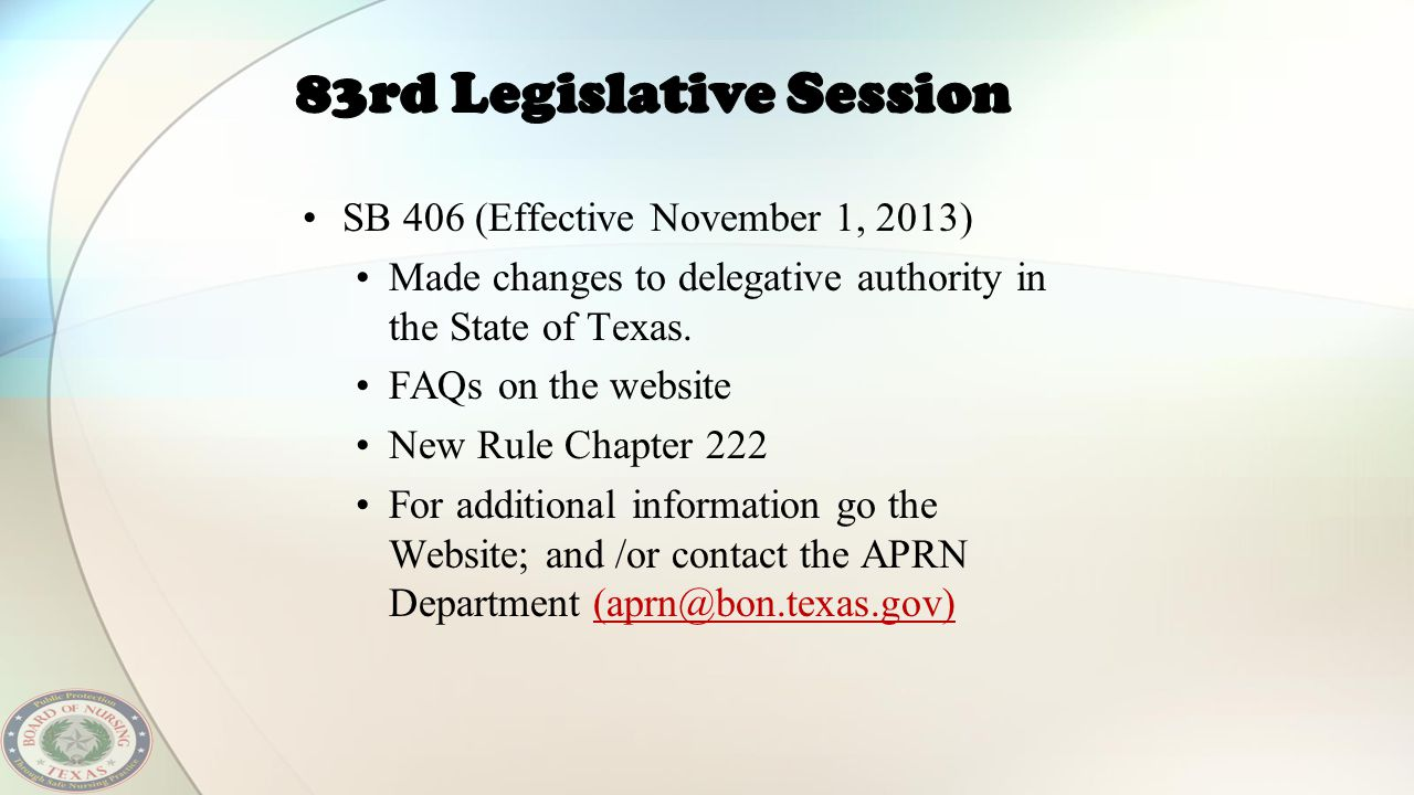 83rd Legislative Session