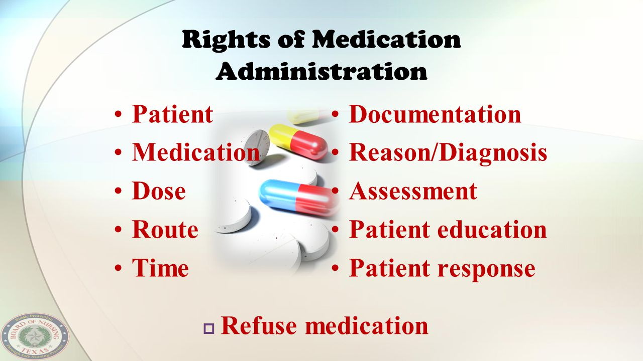 Rights of Medication Administration