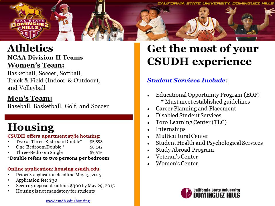 Get the most of your CSUDH experience
