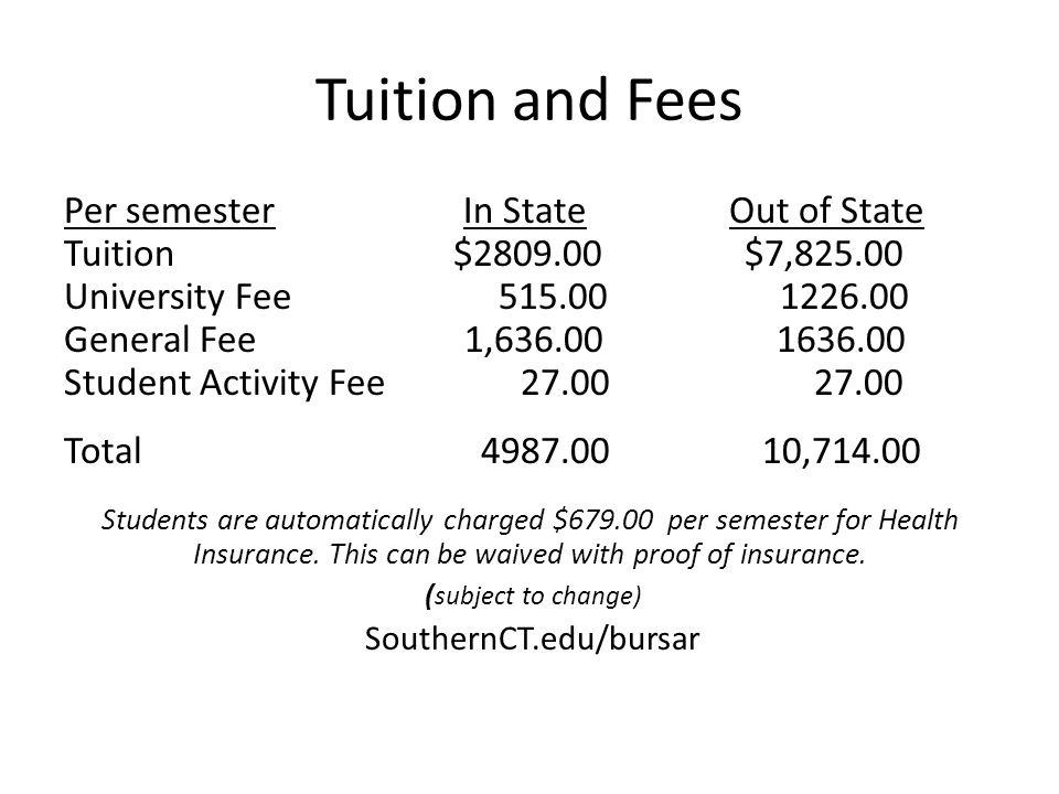 SouthernCT.edu/bursar
