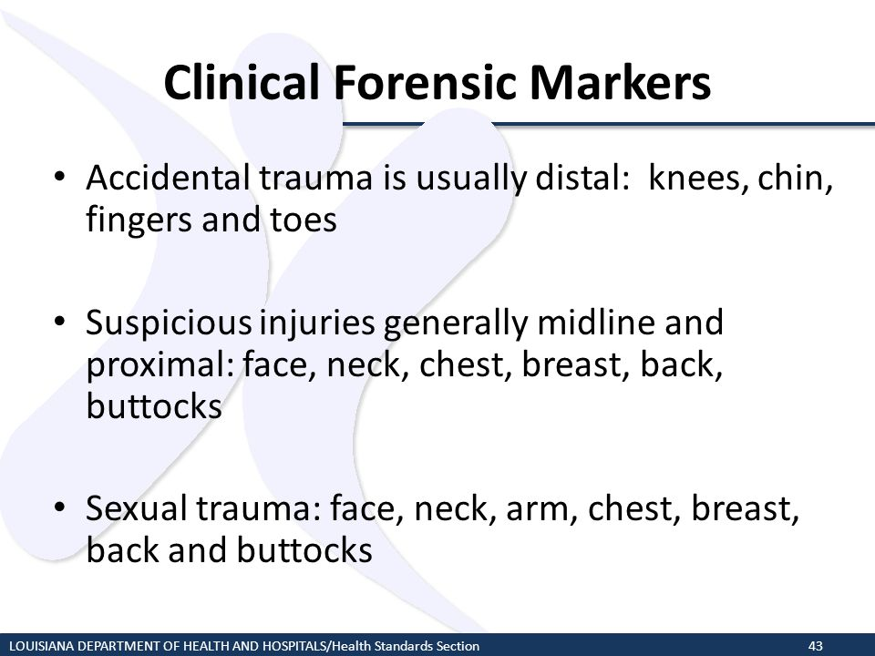 Clinical Forensic Markers