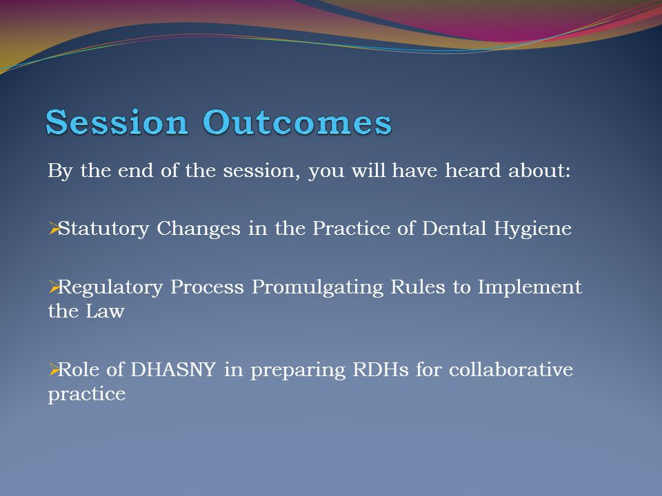 Session Outcomes By the end of the session, you will have heard about: