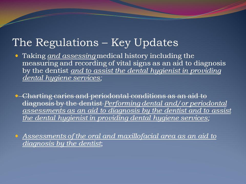 The Regulations – Key Updates