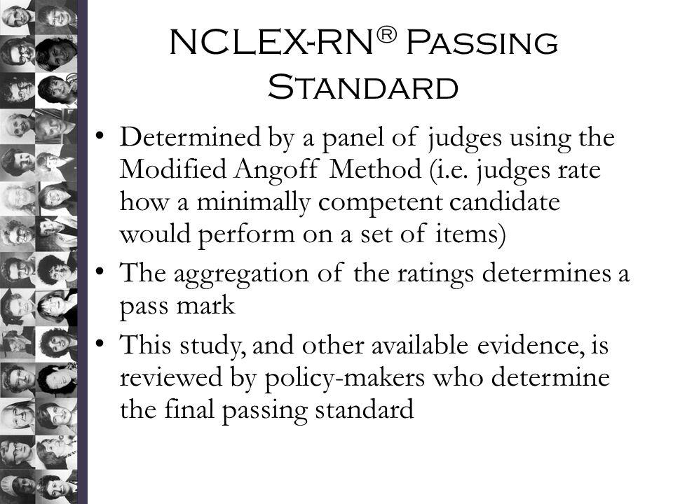 NCLEX-RN® Passing Standard