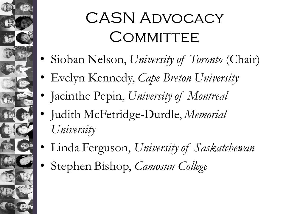 CASN Advocacy Committee
