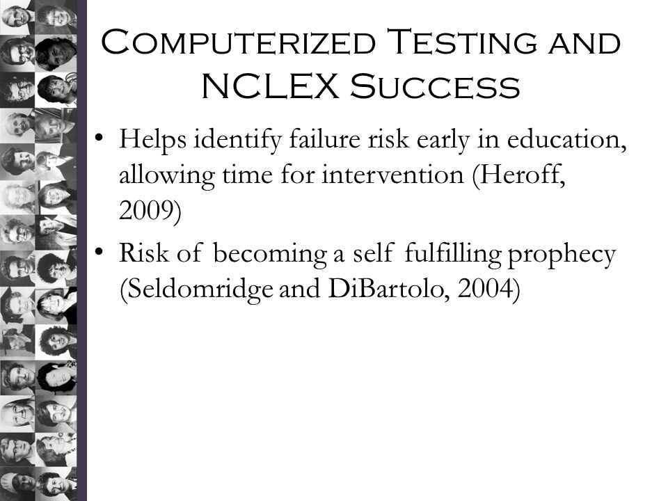 Computerized Testing and NCLEX Success