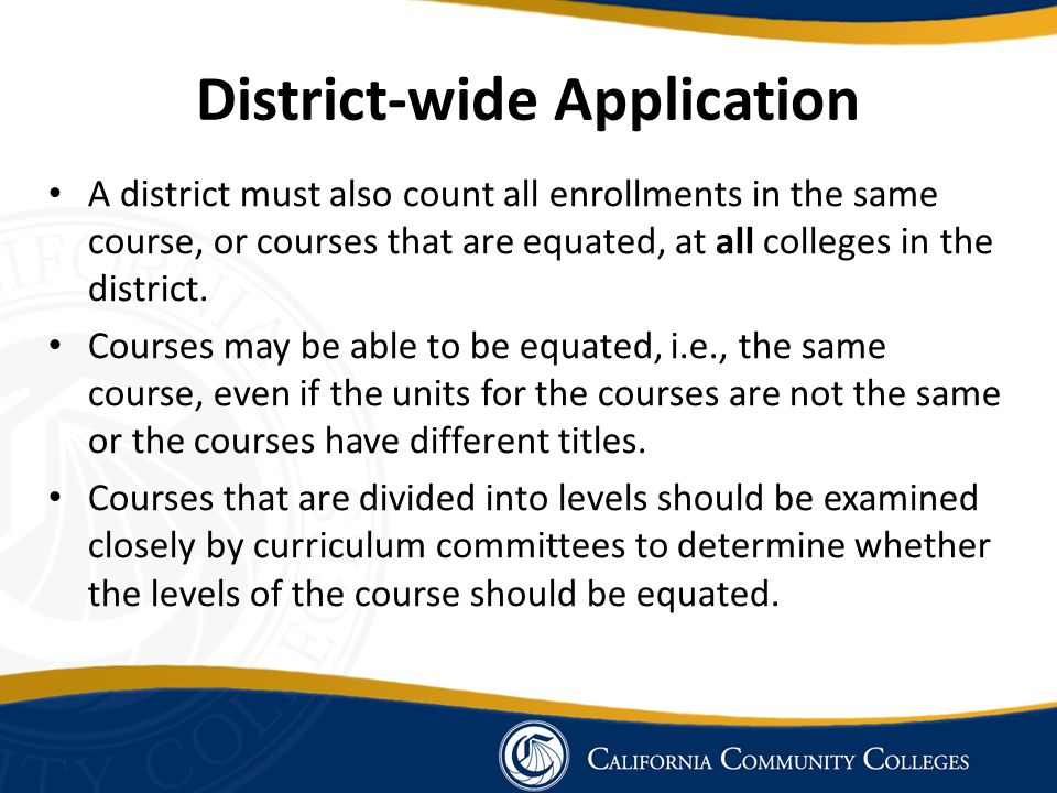 District-wide Application