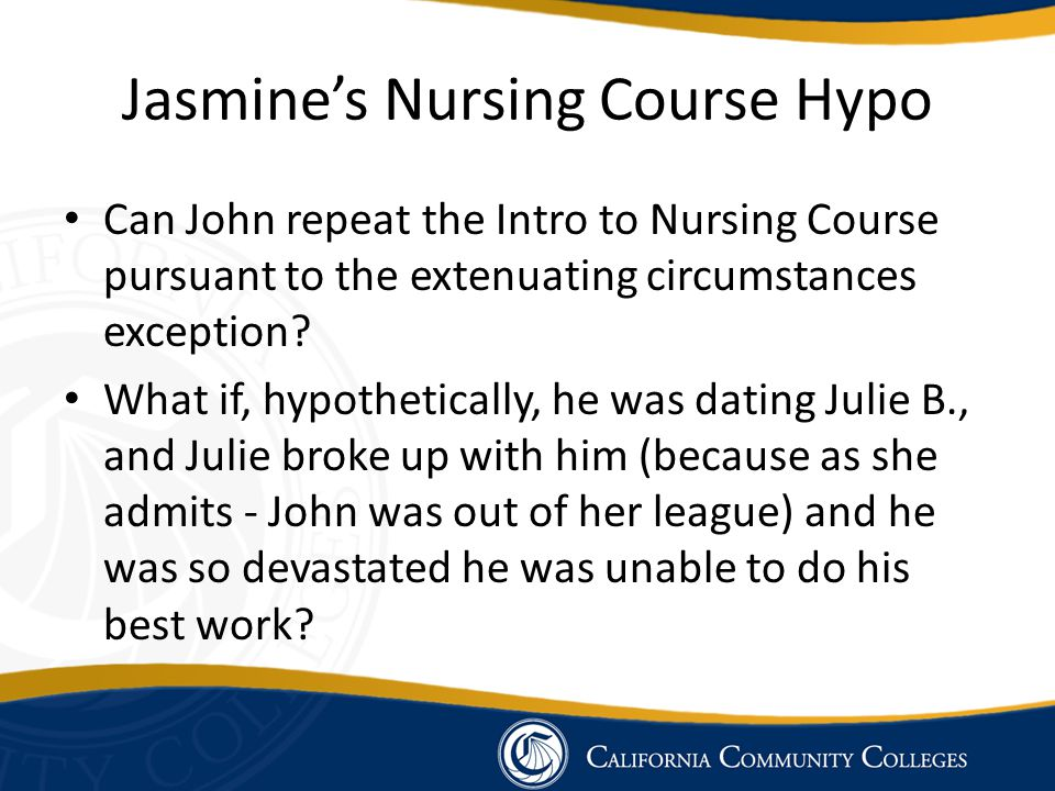 Jasmine's Nursing Course Hypo