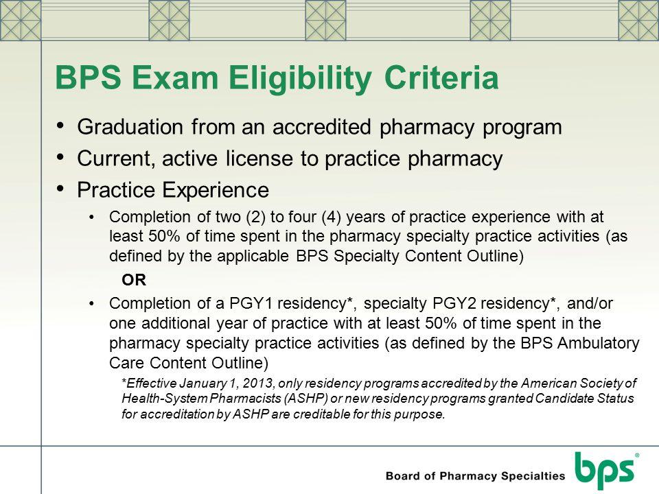 BPS Exam Eligibility Criteria