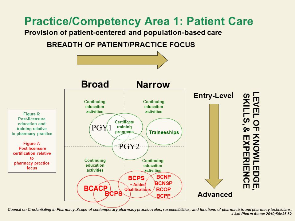 Practice/Competency Area 1: Patient Care Provision of patient-centered and population-based care