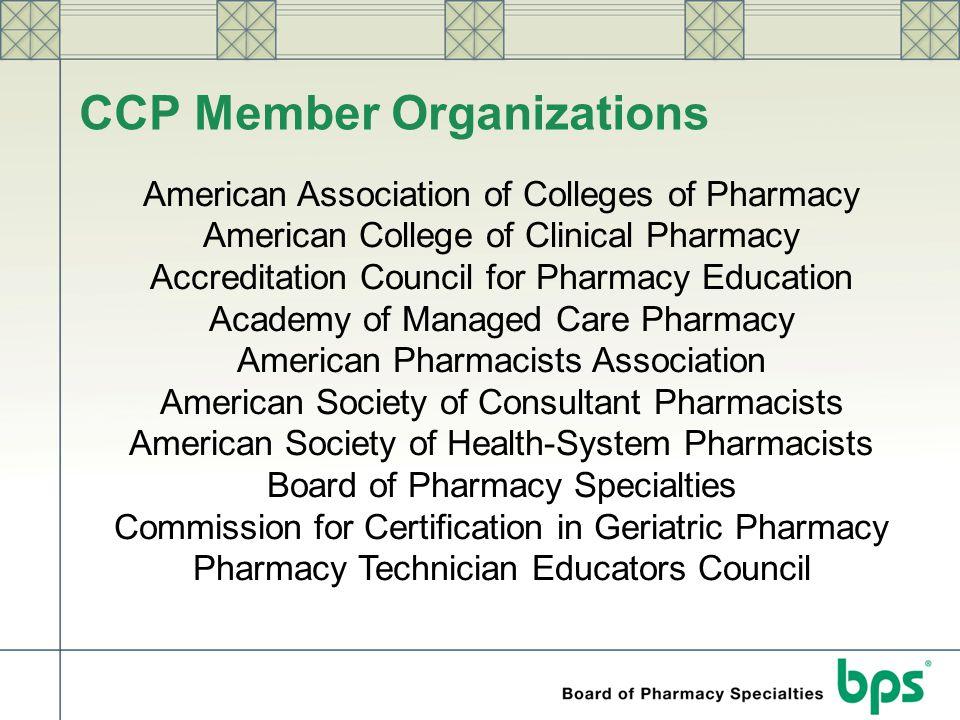CCP Member Organizations